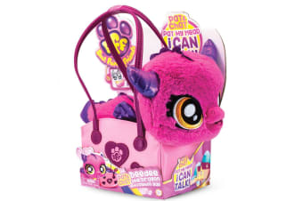 BFF Best Furry Friends Plush Talking Dee Dee Dragon in Handbag