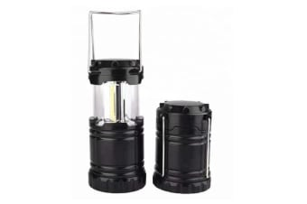 Stretching Camping Lights Outdoor Super Bright Automatically Pull Camping Lights - Black Black Cob