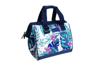Sachi Portable Insulated Lunch Bag Case StorageTravel Bag Tropical Paradise