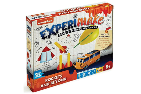 Nickelodeon ExperiMake Rockets and Beyond