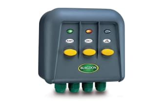 Blagdon PowerSafe Switchbox (Grey) (5 Outlet)