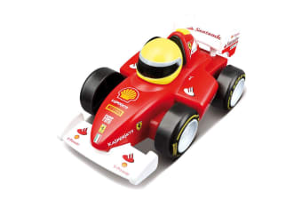 BB Junior Touch & Go Ferrari F2012 Car w/Sounds Baby/Kids Motorised Toy 12m+ Red