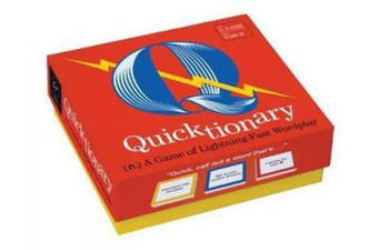 Quicktionary - A Game of Lightning-fast Wordplay