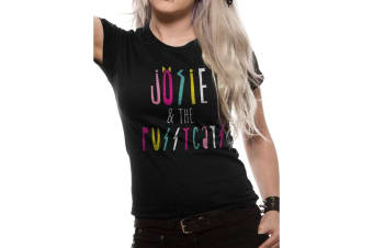 Riverdale Womens/Ladies Josie And The Pussycats Print Fitted T-Shirt (Black) (XL)