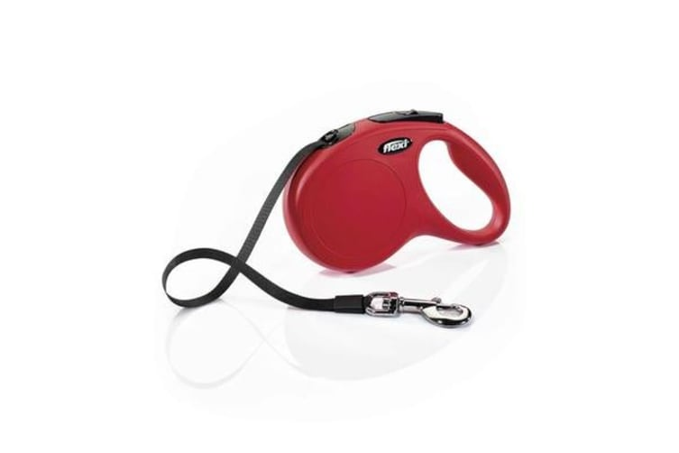 Flexi Classic Tape Retractable Dog Lead Red - S