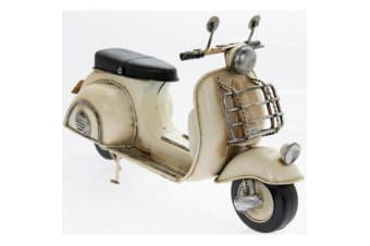 Vintage Scooter Collectable Model (Cream)