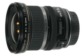 New Canon EF-S 10-22mm 10-22 f/3.5-4.5 f3.5-4.5 USM WIDE (FREE DELIVERY + 1 YEAR AU WARRANTY)