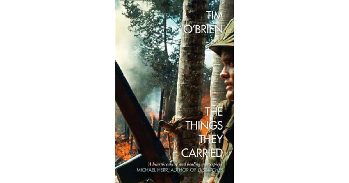 the emotional effects of the vietnam war on soldiers in the things they carried a novel by tim obrie When the raging grannies began in 1987 in victoria bc, they didn't plan to start a worldwide movement they just wanted to protest (in a very different way.