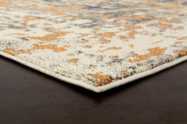 Sonia Contemporary Rug Rust Navy 400x300cm