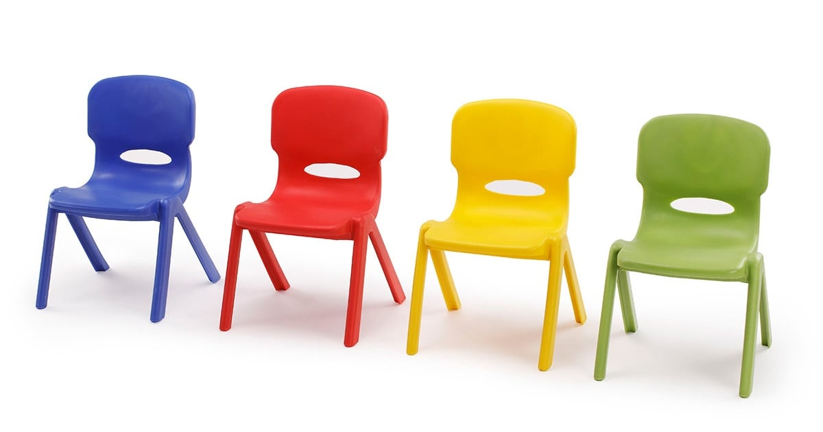 childrens plastic chairs plastic table amp chair set kogan 11114