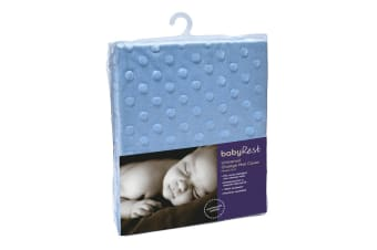 Babyrest Minkie Dot Universal Change Mat Cover - Blue (AC4MD/BL)