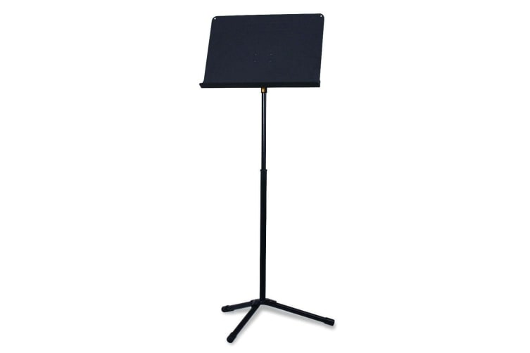 Hercules Symphony Stackable Tripod Music Stand w/ EZ Grip f/ Stage Sheet Black