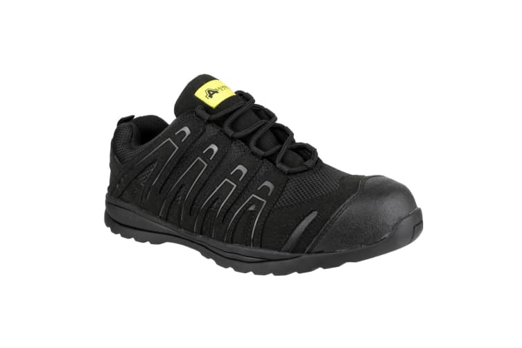 Amblers Unisex FS40C Non-Metal Safety Trainers (Black) (6 UK)