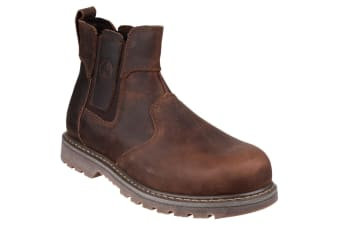 Amblers Steel FS165 Safety Boot / Womens Ladies Boots / Dealers Safety (Brown) (9 UK)