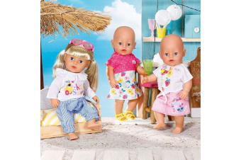 Baby Born Deluxe Fashion Set Spring Doll Clothes