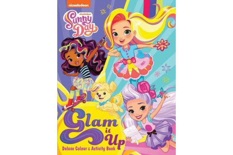 Sunny Day Glam it Up Deluxe Colouring Book