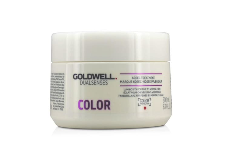 Goldwell Dual Senses Color 60SEC Treatment (Luminosity For Fine to Normal Hair) 200ml