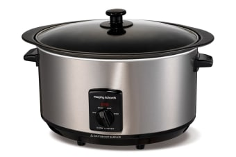 Morphy Richards 6.5L Stainless Sear & Stew Slow Cooker (48705)