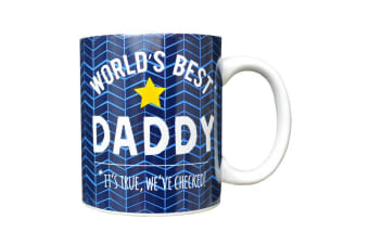 Fathers Day Worlds Best Daddy Mug (Multicoloured) (One Size)