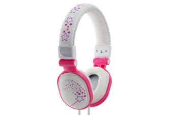 Moki Poppers Over Ear Headphones - Sparkles White  (ACCHPPOD)