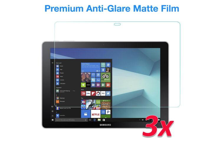 "[3 Pack] Samsung Galaxy Book 10.6"" Anti-Glare Matte Film Screen Protector by MEZON (Book 10.6"", Matte)"