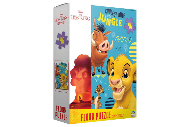 46pc Lion King Floor Jigsaw Puzzle Game Kids/Children Educational Toys 3y+ w/Box