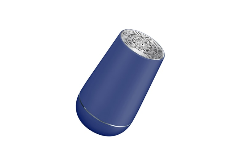 Select Mall Wireless Bluetooth 5.0 Speaker Subwoofer Square Dance Card Mini Speaker Supports Various Mobile Devices-Blue