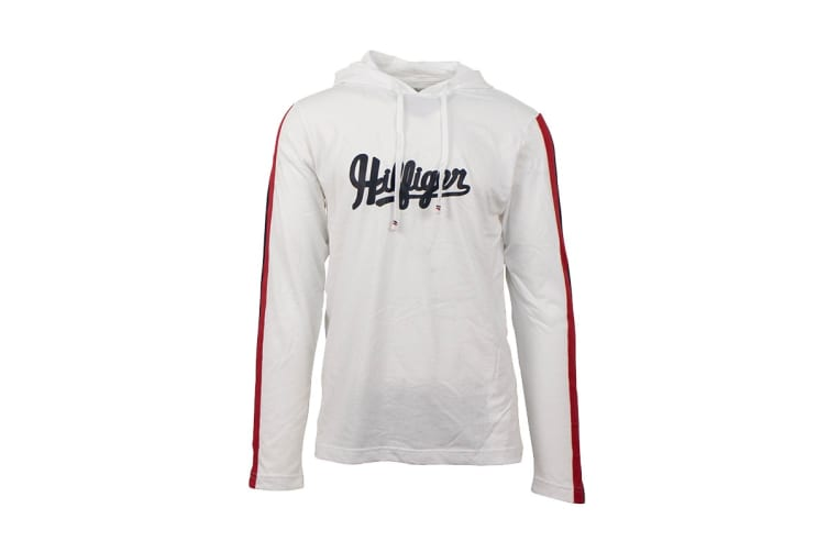 Tommy Hilfiger Men's Modern Essentials Hoodie (White, Size XL)