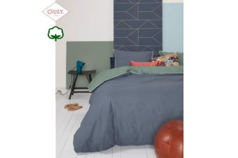 Deep Lagoon Green Quilt Cover Set King by Oilily