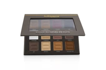 Bellapierre Cosmetics 12 Color Pro Natural Eye Palette (12x Eyeshadow) 21.3g/0.73oz