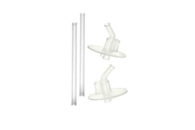 Thermos Funtainer Replacement Straws + Mouthpiece - 4 Piece Set