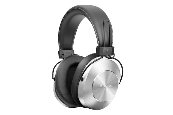 Pioneer Over Ear Bluetooth Headphones (Silver)