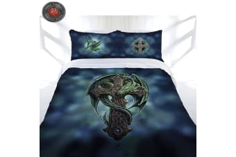 Woodland Guardian Quilt Cover Set by Anne Stokes