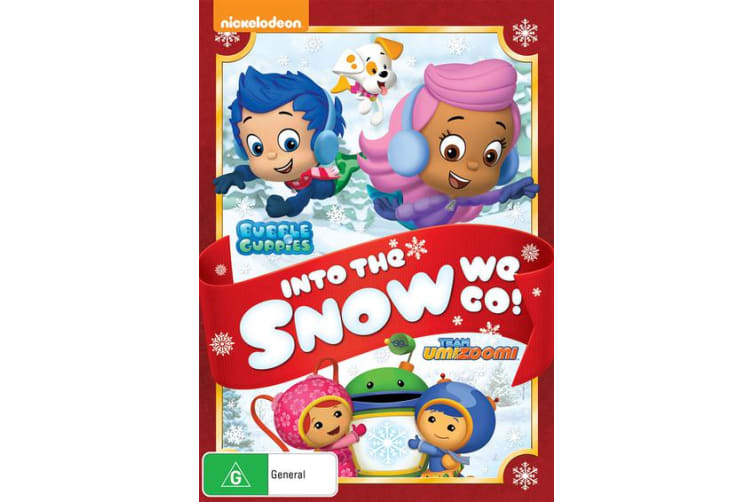 Bubble Guppies / Team Umizoomi Into the Snow We Go DVD Region 4