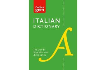 Collins Italian Dictionary Gem Edition - 40,000 Words and Phrases in a Mini Format