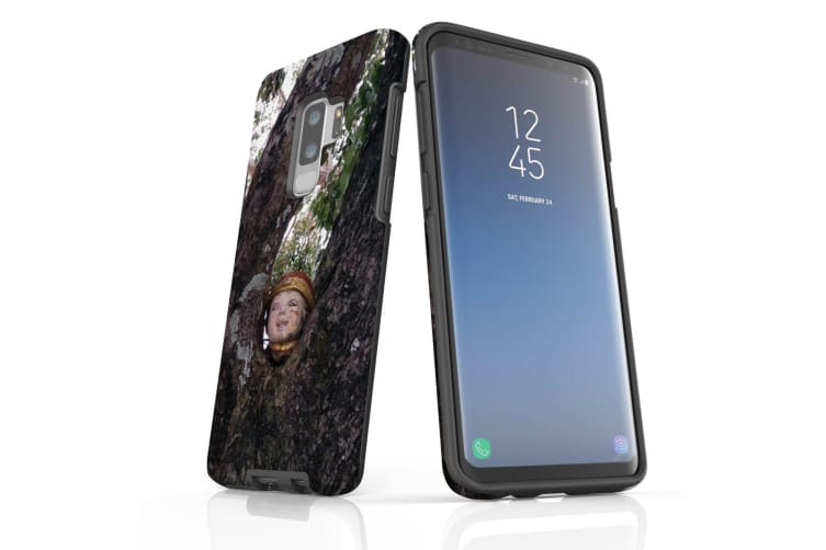 For Samsung Galaxy S9+ Plus Case Armour Cover  Frighty