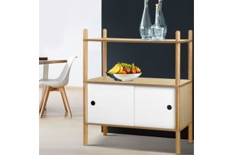 Artiss Display Cabinet Storage Shelves Cupboard Table Sideboard Buffet