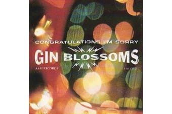 Gin Blossoms - Congratulations I'm Sorry BRAND NEW SEALED MUSIC ALBUM CD