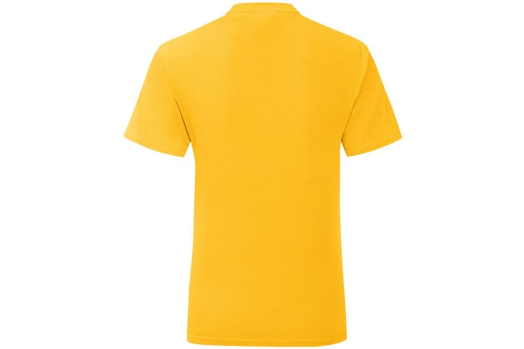 Fruit Of The Loom Mens Iconic T-Shirt (Sunflower Yellow) (3XL)