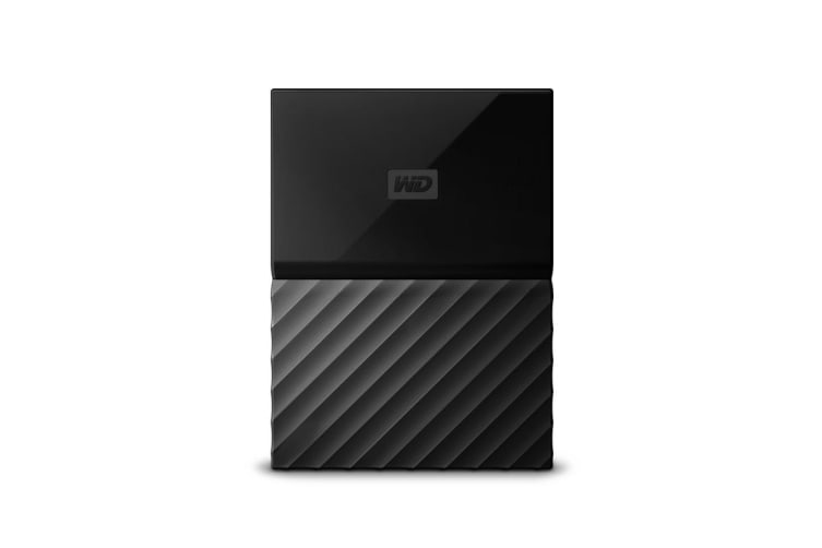 WD My Passport 2TB USB 3.0 Portable Hard Drive - Black (WDBS4B0020BBK-WESN)