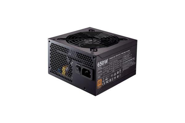 Cooler Master MWE BRONZE 650W 80Plus Bronze PSU MEPS Approved 3 Year warranty