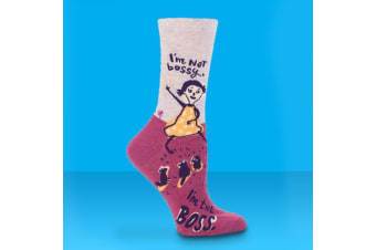 I`m Not Bossy I`m The Boss Ladies Socks