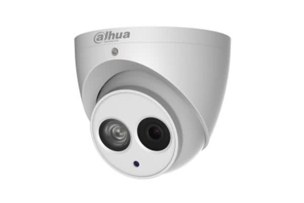 DAHUA 4MP IR Turret IP Camera       H.265&H.264 triple-stream encoding 25/30fps 4M(2688 1520)