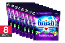 320 Finish Quantum Max Powerball Dishwashing Tablets - Apple Lime Blast (8 x 40 Pack)