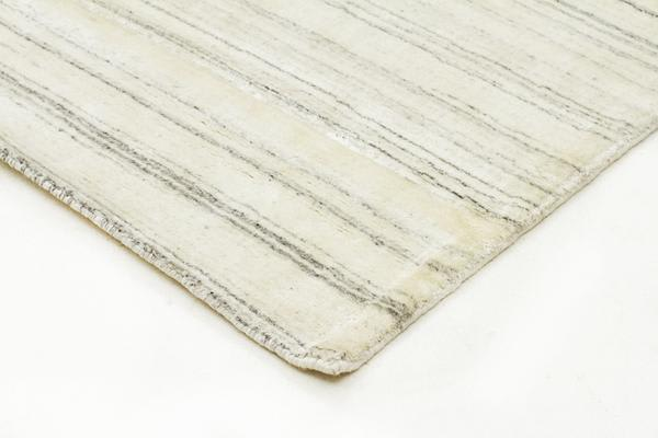 Manhattan Stylish Hand Made Rug Light Grey 280x190cm