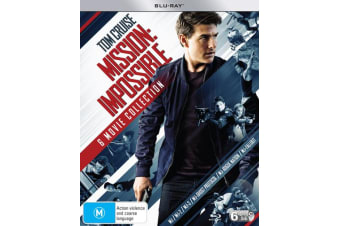 Mission Impossible The 6 Movie Collection Box Set Blu-ray Region B