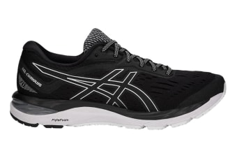 ASICS Men's Gel-Cumulus 20 Running Shoe (Black/White, Size 8.5)