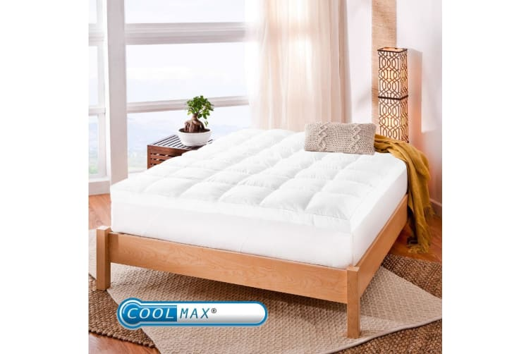 Queen Size Coolmax Mattress Topper
