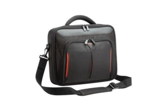 "Targus 15.6"" Topload Notebook Bag Classic+ Clamshell Traditional/Corporate with File Compartment -"