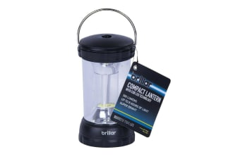 LED Light Compact Lantern Super Bright Emergency Power Camping 360 Folding Carry